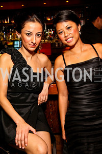 Photo by Tony Powell. Rajini Hinduja, Dianne Sanidad. Noche de Gala 2010. Mayflower Hotel. September 14, 2010