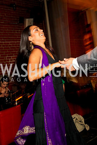 Photo by Tony Powell. Angelica Salazar. Noche de Gala 2010. Mayflower Hotel. September 14, 2010