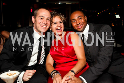 Photo by Tony Powell. John Furey, Jennifer Parsons, Adam Allen. Noche de Gala 2010. Mayflower Hotel. September 14, 2010