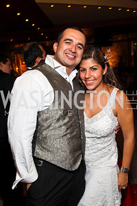 Photo by Tony Powell. Elvis Cordova, Elisa Montoya. Noche de Gala 2010. Mayflower Hotel. September 14, 2010