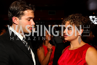 Photo by Tony Powell. Gilbert Zepeda, Jennifer Parsons. Noche de Gala 2010. Mayflower Hotel. September 14, 2010