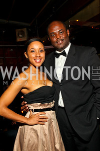 Photo by Tony Powell. Stacey Calhoun, Tim O. Noche de Gala 2010. Mayflower Hotel. September 14, 2010