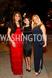 Photo by Tony Powell. Ivette Fernandez, Aimee Garcia, Christina Wilkie. Noche de Gala 2010. Mayflower Hotel. September 14, 2010