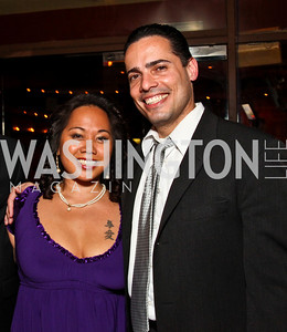 Photo by Tony Powell. Marilyn Kirby, Steven Del Castro. Noche de Gala 2010. Mayflower Hotel. September 14, 2010