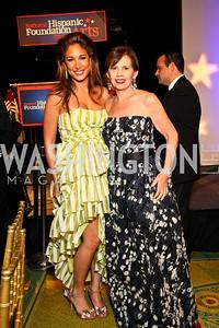 Photo by Tony Powell. Giselle Itié, Adrienne Arsht. Noche de Gala 2010. Mayflower Hotel. September 14, 2010