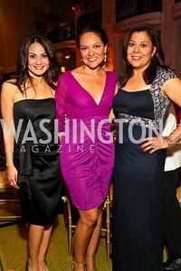 Photo by Tony Powell. Monica Gil, Delia Delavara, Lilian Rodriguez. Noche de Gala 2010. Mayflower Hotel. September 14, 2010