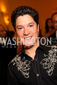 Photo by Tony Powell. Singer Frankie Negron. Noche de Gala 2010. Mayflower Hotel. September 14, 2010