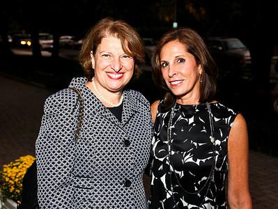 "Susan Sher, Beth Dozoretz. Photo by Tony Powell. ""Baby Love"" Book Party. Grenham/Zevnik residence. September 28, 2010"