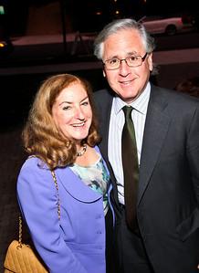 "Amy Nathan, Howard Fineman. Photo by Tony Powell. ""Baby Love"" Book Party. Grenham/Zevnik residence. September 28, 2010"