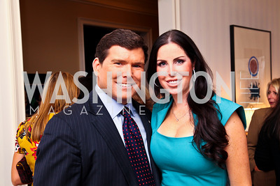 "Bret and Amy Baier. Photo by Tony Powell. ""Baby Love"" Book Party. Grenham/Zevnik residence. September 28, 2010"
