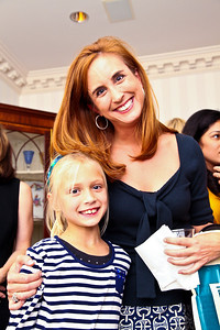 "Ella and Betsy Fischer. Photo by Tony Powell. ""Baby Love"" Book Party. Grenham/Zevnik residence. September 28, 2010"