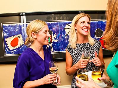 "Susan Tynan, Lee Prince. Photo by Tony Powell. ""Baby Love"" Book Party. Grenham/Zevnik residence. September 28, 2010"