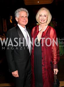 Photo by Tony Powell. Donald and Rhona Friedman. PEN/Faulkner Gala. Folger Shakespeare Library. September 20, 2010