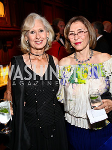 Photo by Tony Powell. Willee Lewis, Author Azar Nafisi. PEN/Faulkner Gala. Folger Shakespeare Library. September 20, 2010