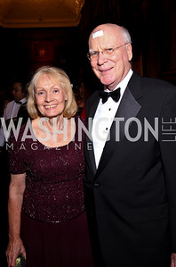 Photo by Tony Powell. Marcelle Leahy and Senator Patrick Leahy. PEN/Faulkner Gala. Folger Shakespeare Library. September 20, 2010