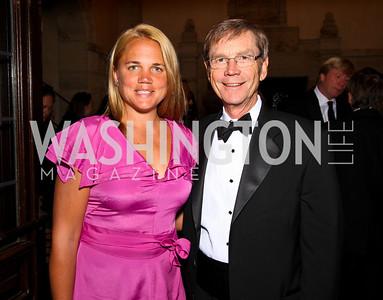 Photo by Tony Powell. Marguerite and Richard Thompson. PEN/Faulkner Gala. Folger Shakespeare Library. September 20, 2010