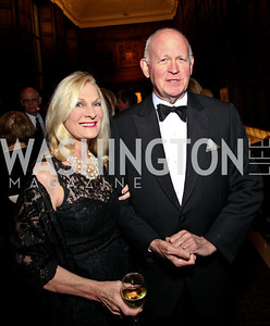 Photo by Tony Powell. Susan and Michael Pillsbury. PEN/Faulkner Gala. Folger Shakespeare Library. September 20, 2010