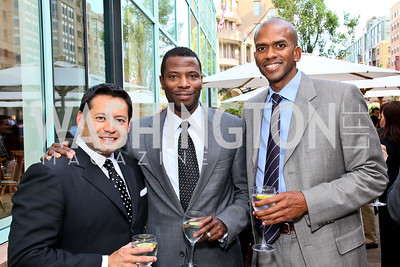 Photo by Tony Powell. Ernie Arias, Elliott Ferguson, Gregory O'Dell. Park Hyatt Masters of Food & Wine. June 17, 2010