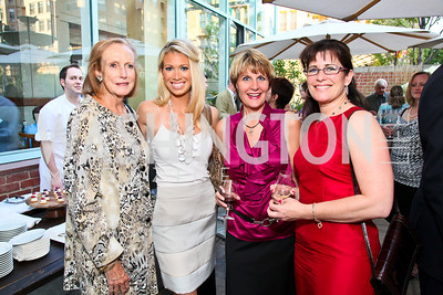 Photo by Tony Powell. Kathryn Nelligan, Courtney Caldwell, Sandy Spina, Susan Ellis. Park Hyatt Masters of Food & Wine. June 17, 2010