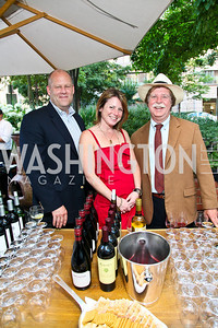 Photo by Tony Powell. Mike Buckingham, Rachel Martin, Loren Steck. Park Hyatt Masters of Food & Wine. June 17, 2010