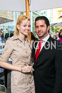 Photo by Tony Powell. Jamie and Amin Salam. Park Hyatt Masters of Food & Wine. June 17, 2010