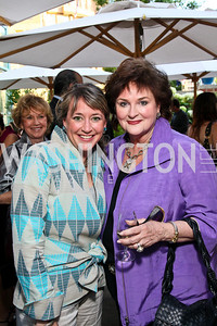 Photo by Tony Powell. Elizabeth and Anne Scully. Park Hyatt Masters of Food & Wine. June 17, 2010