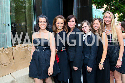 Photo by Tony Powell. Mercedes Fajardo, Kim Luk, Maggie Perez, Sarah Williamson, Patricia Ramsey, Katie VanBuskirk. Park Hyatt Masters of Food & Wine. June 17, 2010