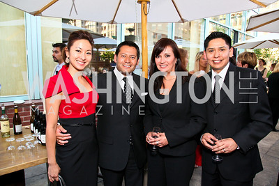 Photo by Tony Powell. Anchyi Wei, Ernie Arias, Maggie Perez, Craig Harris. Park Hyatt Masters of Food & Wine. June 17, 2010