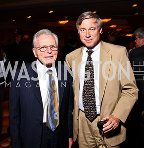 Photo by Tony Powell. Frank Carlucci, Fred Upton. Parkinson's Action Network Dinner. Capital Hilton. October 6, 2010
