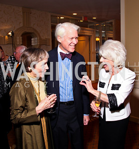 Photo by Tony Powell. Jodie Allen, Albert Beveridge, Diane Rehm. Parkinson's Action Network Dinner. Capital Hilton. October 6, 2010