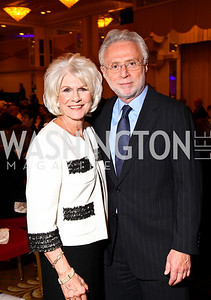 Photo by Tony Powell. Diane Rehm, Wolf Blitzer. Parkinson's Action Network Dinner. Capital Hilton. October 6, 2010