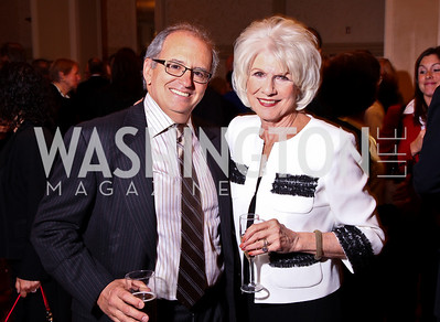 Photo by Tony Powell. Norm Ornstein, Diane Rehm. Parkinson's Action Network Dinner. Capital Hilton. October 6, 2010