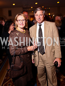 Photo by Tony Powell. Marcia Carlucci, Fred Upton. Parkinson's Action Network Dinner. Capital Hilton. October 6, 2010