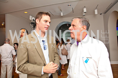 Photo by Tony Powell. Thomas Cluderay, Bob Veizer. Phillips after 5 End of Summer White Party. August 26, 2010