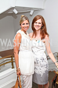 Photo by Tony Powell. Allison Pignataro, Courtney Cooper. Phillips after 5 End of Summer White Party. August 26, 2010