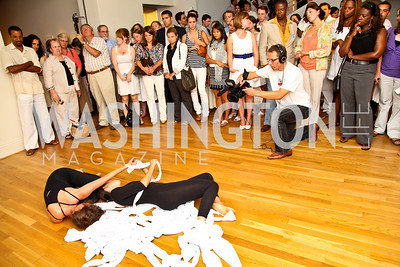Photo by Tony Powell. Glade Dance Company. Phillips after 5 End of Summer White Party. August 26, 2010