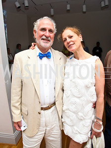 Photo by Tony Powell. Robert and Barbara Liotta. Phillips after 5 End of Summer White Party. August 26, 2010