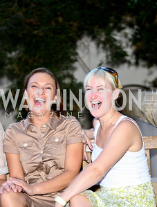Photo by Tony Powell. Tianni Craig, Erin Donnelly. Phillips after 5 End of Summer White Party. August 26, 2010