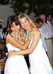 Photo by Tony Powell. Tina Krivorotova, Tina Cruikshank. Phillips after 5 End of Summer White Party. August 26, 2010