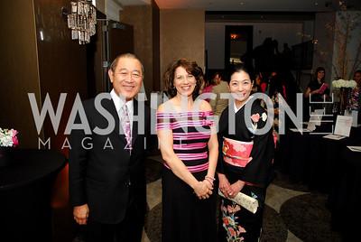 Amb.Ichiro Fujisaki,Diana Mayhew,Yoriko Fujisaki