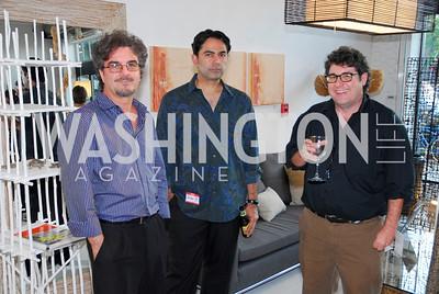 Kyle Samperton,June 30,2010,Plastic Pollution Coalition at Muleh,Said Tinat,Shahin Baratpour,Dennis Malloy