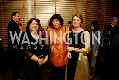 Brenda Feliciano, Francesca Zambello, Christine Scheppleman. Porgy and Bess Cast Pary. March 20, 2010. Photo by Kyle Samperton.