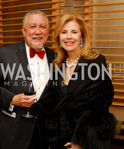 Paquito D'Riveria, Jane Cafritz. Porgy and Bess Cast Pary. March 20, 2010. Photo by Kyle Samperton.
