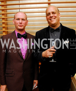 Tim Burrow, Larry Bauer. Porgy and Bess Cast Pary. March 20, 2010. Photo by Kyle Samperton.