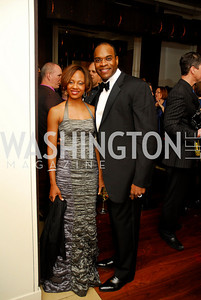 Gwen Green, Eric Green. Porgy and Bess Cast Pary. March 20, 2010. Photo by Kyle Samperton..