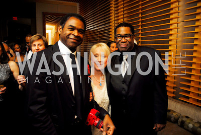 Terry Cook, Ann Barrett, Eric Owens. Porgy and Bess Cast Pary. March 20, 2010. Photo by Kyle Samperton.