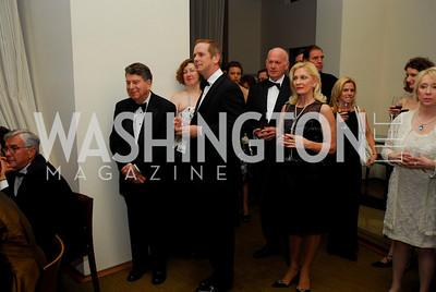 Calvin Cafritz, Shayne Doty, Michael Pillsbury, Susan Pillsbury. Porgy and Bess Cast Pary. March 20, 2010. Photo by Kyle Samperton.
