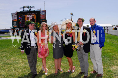 Kyle Samperton, May 15, 2010, Preakness 2010, Michael Megginson, Courtney Wilson, Gigi Garcia, Lynni Megginson, Berkley Jeffress, Rick Baron