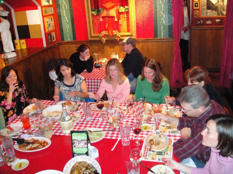 MCRRC First Time Marathon Program 2010 - Buca Di Beppo Carbo Loading - Photo by Ken Trombatore