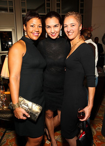 Real Housewife of DC Stacie Turner, Deputy DC Mayor Valerie Santos, Cristal Baron. Circle of Friends: Reminiscence Weekend. Mandarin Oriental Hotel. November 27, 2009. photos by Tony Powell